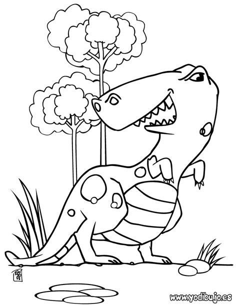 zoomer dino coloring page dibujos para colorear tiranosaurio para peques es