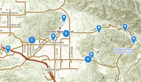 zip code map yucaipa ca best trails near yucaipa california alltrails com