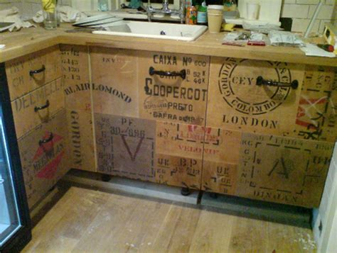 decoupage kitchen cabinets livable luxury 14 creative kitchen interior designs