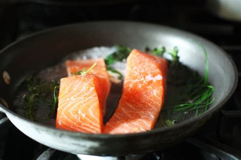 poached salmon recipes simple poached salmon recipe set the table