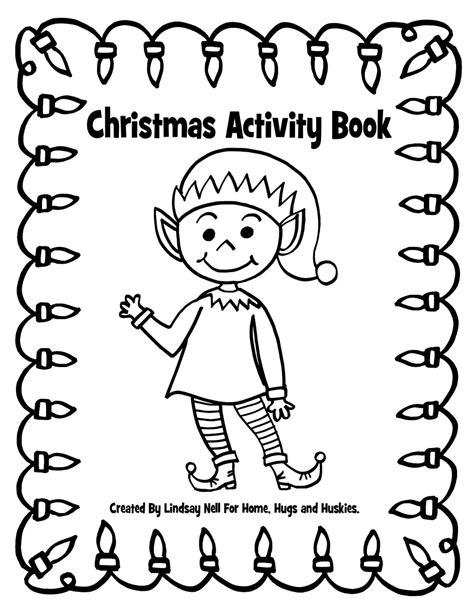 printable christmas activity book word search