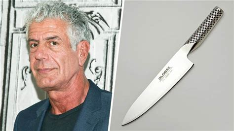 anthony bourdain on kitchen knives anthony bourdain reveals favorite chef s knife today com