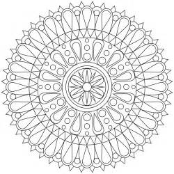 mandala coloring pages for adults free coloring pages of flower designs for sugar