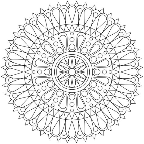 mandala coloring pages free printable mandala coloring pages for adults selfcoloringpages