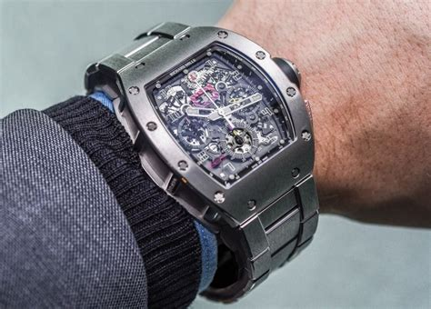Ricard Mille Ring Black richard mille rm 011 felipe massa with new titanium
