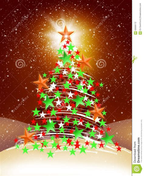 christmas tree stock illustration image 63699172