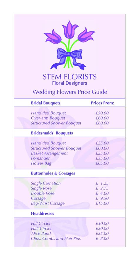 flower wedding prices flower prices flowers ideas for review