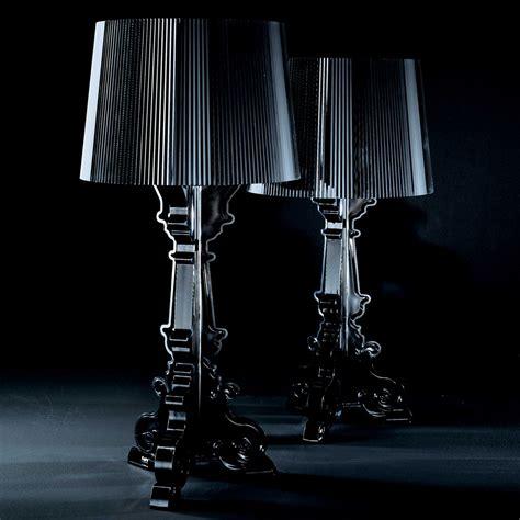 kartell l italy kartell ferruccio laviani bourgie black table light