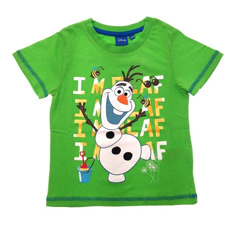 8 Must Shirts For Summer by Boys Official Disney Frozen T Shirts Olaf