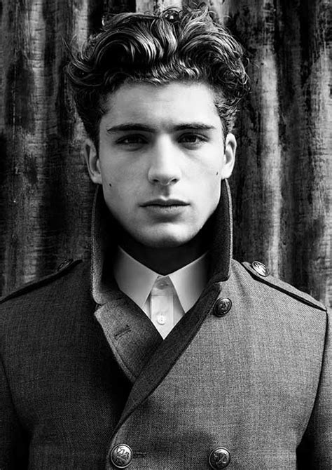 thick wavy hairstyles  men mens hairstyles