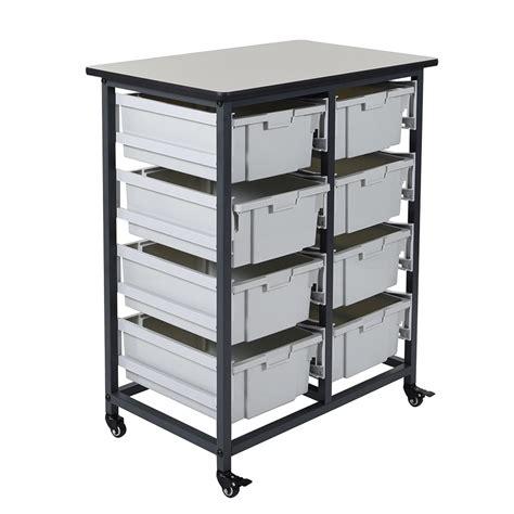 Bin Storage Unit by Mobile Bin Storage Unit Row 8 Large Bins