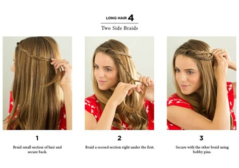easy hairstyles for hair to do at home immodell net