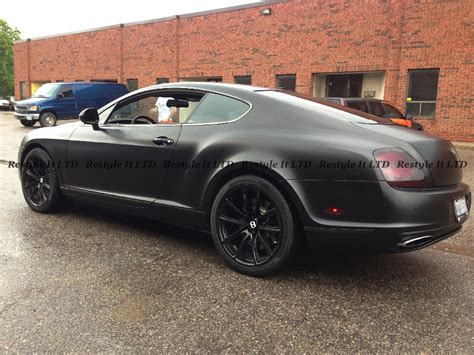 satin black bentley satin black bentley continental gt supersport vehicle