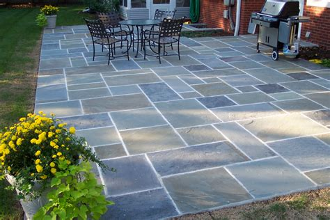 Patio Ideas On Awesome Bluestone Patio Ideas 5 Blue Patio