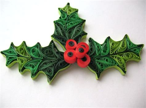 Origami Mistletoe - 280 best images about quilling decorations on