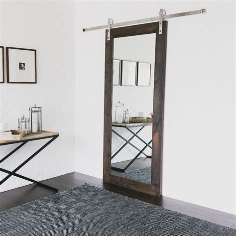 steel barn door 195cm stainless steel sliding barn door hardware