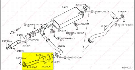 P0420 Nissan Maxima 2006 How To Replace A Catalytic Converters On A 2004 Nissan Titan