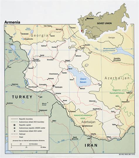 armenia political map maps of armenia detailed map of armenia in