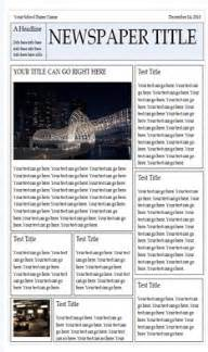 newspaper template wonderful free templates to create newspapers for your