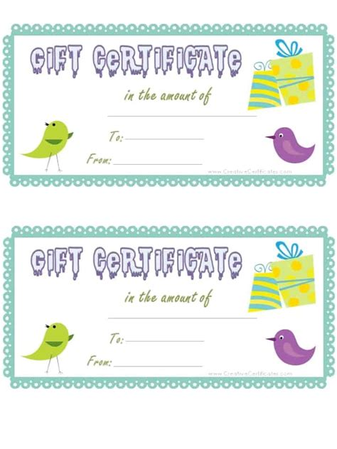 blank gift certificate template free christmas archives valid gift