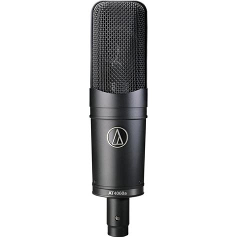 capacitor microphone ppt audio technica at4060a cardioid condenser microphone at4060a b h
