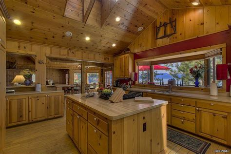 Cobb Kitchen by Ty Cobb S Lake Tahoe Home For Sale Zillow Porchlight
