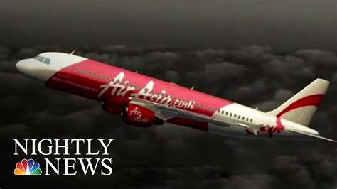 airasia youtube airasia jet likely stalled before crash nbc nightly news