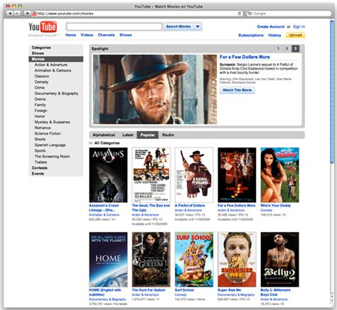 download youtube rental movies what app to download to watch movies on mac
