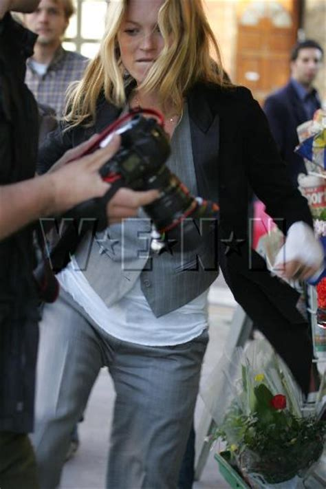 Forget Powder Kate Moss Turns To Wax by Another Stupid Gossip Candids