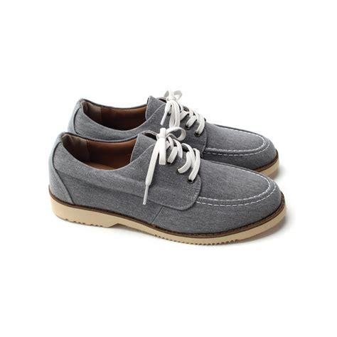 elevator sneakers mens chic u line stitch toe increase height