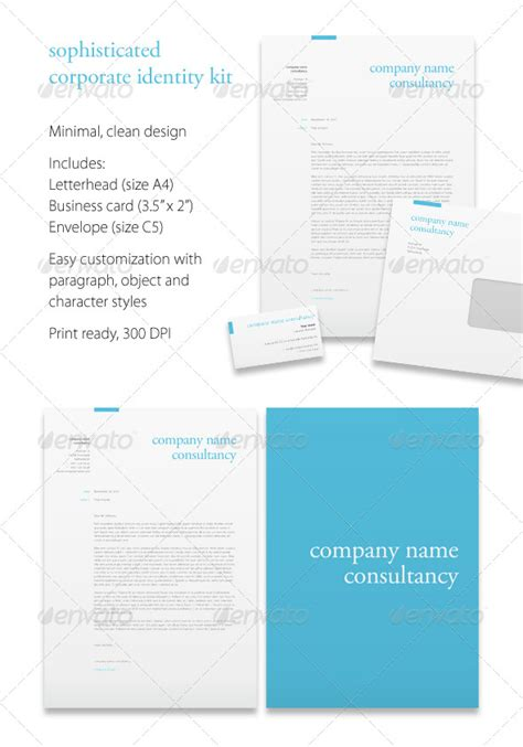 corporate identity design templates template idesignow