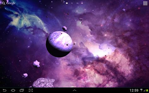 google live wallpaper for pc asteroids 3d live wallpaper android apps on google play