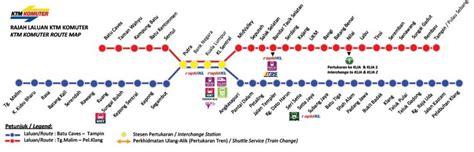Ktm Route Map Tips Jimat Naik Ktm Komuter Yang Anda Perlu Tahu