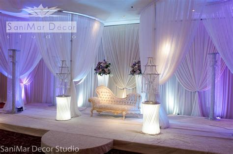 decoration and design wedding stage decor
