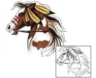 cartoon horse tattoo horse tattoos and tattoo designs