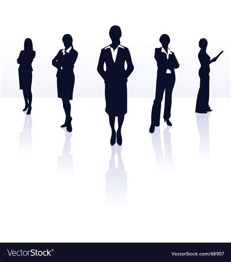 Business Vector Royalty Free Stock Images Image 1449729 Silhouettes Of Business Royalty Free Vector Image