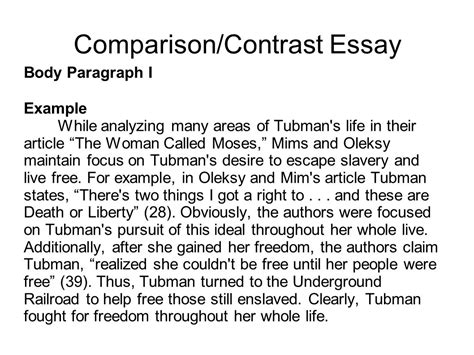things to write a compare and contrast essay on compare and contrast