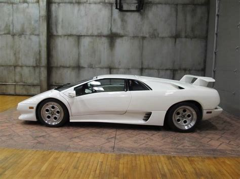 Lamborghini Diablo White by 1992 Lamborghini Diablo Coupe White White Best Investment