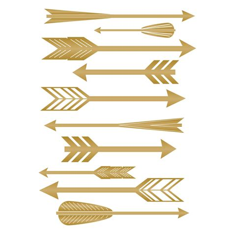 mid century vinyl wall decals feather arrow pattern with various mid century style