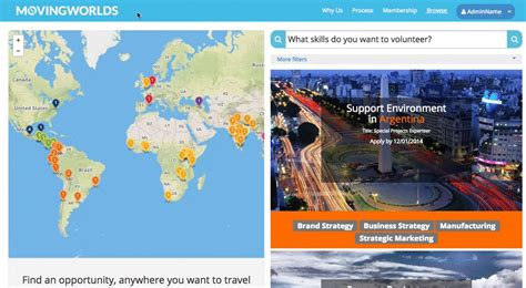 Find International New Search Tool Helps You Find International Volunteering