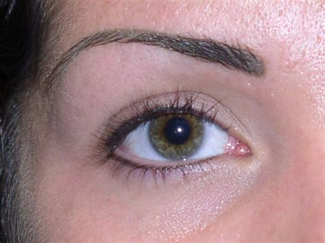 eyebrow and eyeliner healed from girlz ink permanent