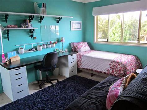 ideas for girls rooms done in baby blue
