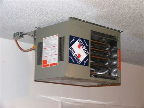 Installing Garage Heater by Garage Heaters A N Heating Cooling Llc Milwaukee Wi