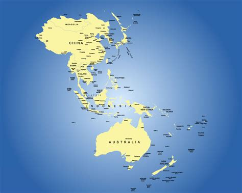 regional map of asia map of asia pacific region my