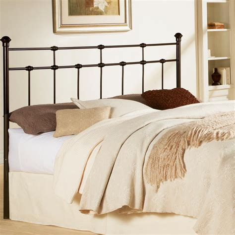 fashion bed group dexter king size metal headboard with