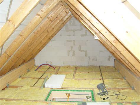 spitzboden ausbauen innenausbau bauen mit team massivhaus
