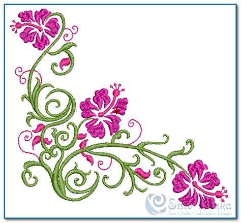 embroidery design in flower hawaiian flower embroidery design emblanka com