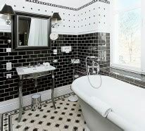 badezimmer ideen schwarz weiß badezimmer ideen in schwarz wei 223 45 inspirierende beispiele