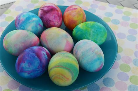 food coloring easter eggs frothy dye eggs in the columbian