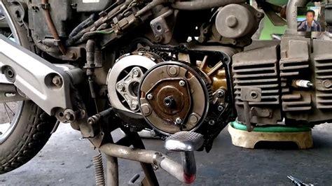 Kopling Kawasaki Kaze R ciri suara motor yang wajib turun mesin